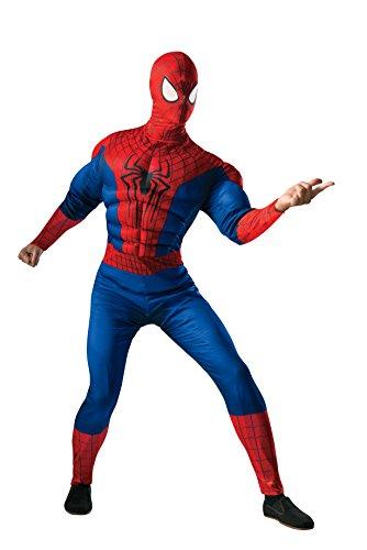 n Kostüm 2 Deluxe-Männer (The Amazing Spider Man Kostüm)