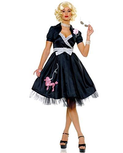 Horror-Shop 50er Jahre Rock`n Roll Diva Kostüm M / 38