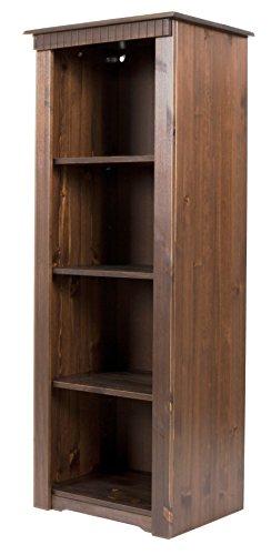 clever-moebel Bücherregal aus Kiefernholz, kolonialfarben