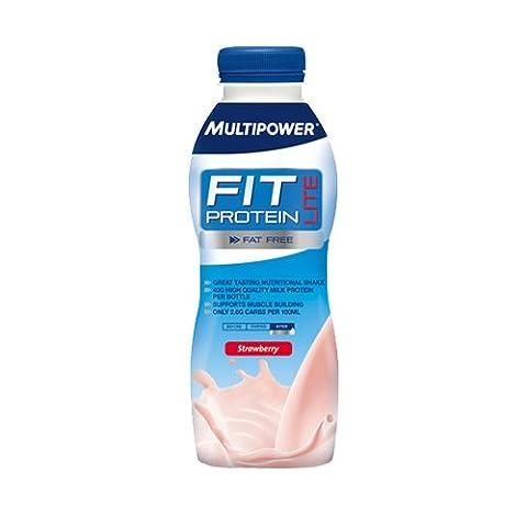 Multipower Fit Protein Lite 12x 500ml Bottle
