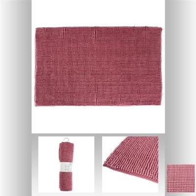 alfombra-chenille-corto-rosa