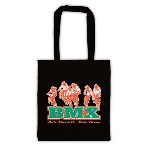 Ride-Borsa posteriore per BMX Nero