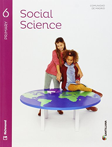 SOCIAL SCIENCE 6 PRIMARY STUDENT'S BOOK + AUDIO - 9788468087368 por Aa.Vv.