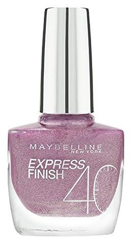 Maybelline New York Make-Up Nailpolish Express Finish Nagellack Dia Mauve