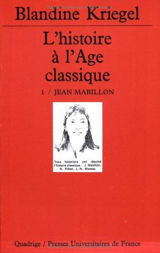 L'Histoire de l'âge classique, coffret de 4 volumes