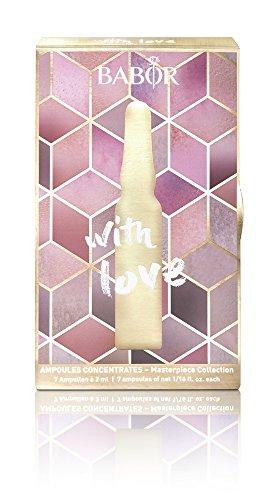 BABOR Ampoule Concentrates Geschenkset, feuchtigkeitsspendende Ampullen, Schönheit zum Verschenken, luxuriöse Gesichtspflege, Beautybox, 7...