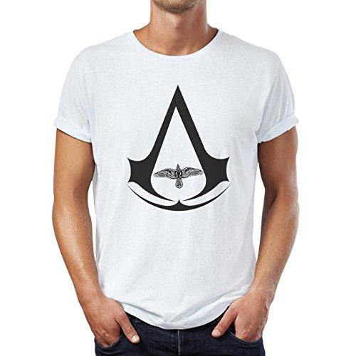 Assassin's Creed Movie Bird Art Sydnicate Medium Uomini T-Shirt