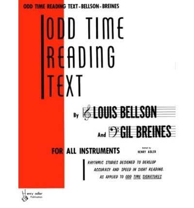 [(Odd Time Reading Text: For All Instruments )] [Author: Louis Bellson] [Jul-1999]