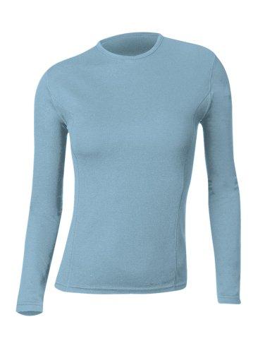 Gordini Damen Midweight 2-Lagen Wolle langen Ärmeln Crew, damen, Skydive (Crew Midweight Shirt)