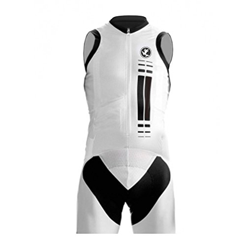 UGLYFROG ROPA SIN MANGAS HOMBRE MAILLOTS CICLISMO SLEEVELESS SKINSUIT WITH GEL PAD TRIATLON CLOTHES ESHSLT02