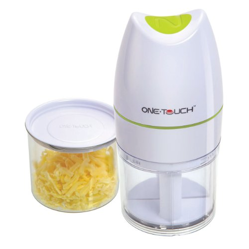San Ignacio One Touch KC32 - Rallador de queso, 17 cm x 8 cm, ralla rápidamente, sin riesgo de cortes...