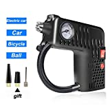 M-PENG Compresseur d'air Portable 12 V Multifonction 5 en 1 Gonfleur de Pneu de...