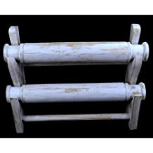 Expositor para pulseras y relojes 2joncs madera maciza acabado blanco encalado