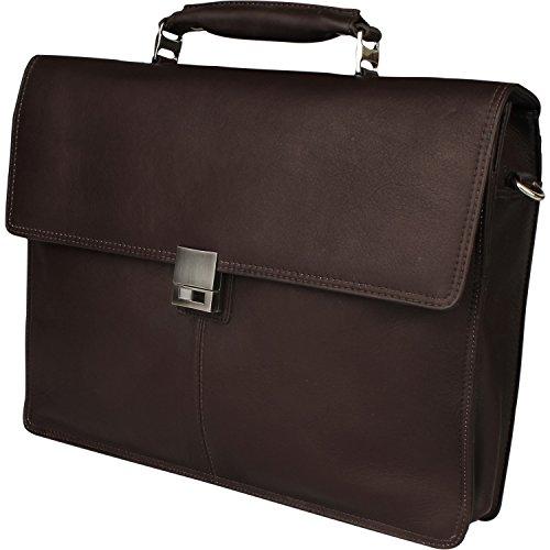 Harold's Country Aktentasche Leder 37 cm Laptopfach braun