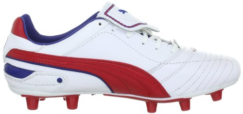 Puma Liga Finale I Fg, chaussures de sport - football homme Blanc - Weiss (white-ribbon red-limoges 05)