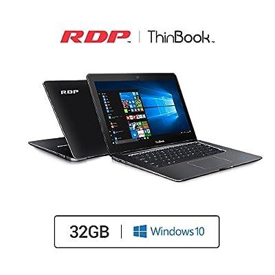 RDP ThinBook - 11.6 inch Laptop (Intel 1.92GHz Quad Core/2GB RAM/32GB Storage/Windows 10)