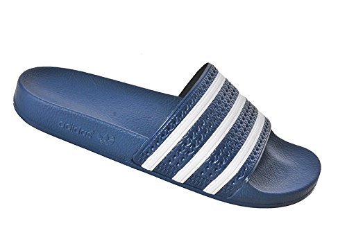 Adidas Originals ADILETTE, Sneakers, Unisex, blau - Blu (Navy/White) - Größe: 39 EU
