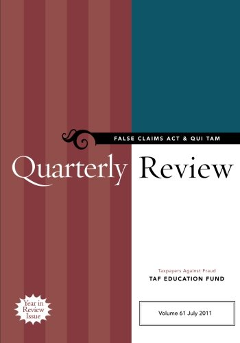 False Claims ACT & Qui Tam Quarterly Review