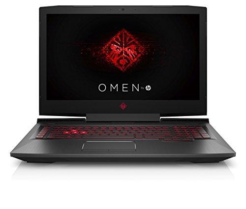 Omen by HP 17-an051ng 43,9 cm (17,3 Zoll Full HD IPS) Gaming Laptop (Intel Core i7-7700HQ, 2TB HDD, 256GB SSD, 16GB RAM, NVIDIA GeForce GTX 1070 8GB, G-Sync, Windows 10 Home 64) Schwarz