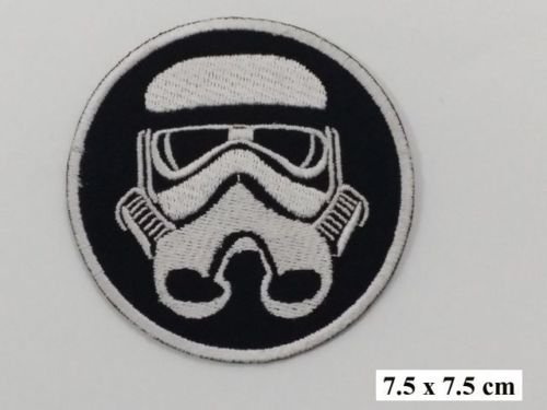 er Imperial Storm Trooper Iron Man Sew Man Wandleuchte aufgenähtes Flicken, Ecusson-gesticktem Patch Patch 7.3 cm (Superman Roben)