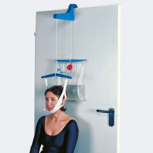 Tielle camp - modello 24 apparecchio completo a porta per trazione cervicale
