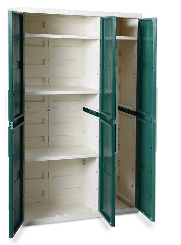 Toomax z263r033 armadio comfort line s 3 ante for Mobili giardino sconti