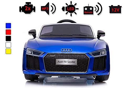 Unbekannt Kinder Auto Spielzeug Elektroauto Audi Kinder Lizenz Kinderfahrzeug BLAU