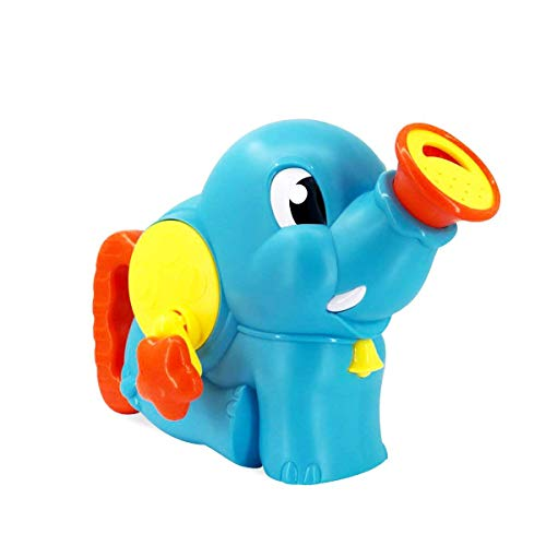 OUTANG Baby Badespielzeug Elefant Wasserbombe Spritzen Sprayer für Kinder Badezeit Dusche Spielzeug Kleinkinder Haarwäsche Werkzeug (Kleinkind Dusche Sprayer)