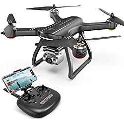 Holy Stone HS700D GPS Drone avec Caméra HD 2K WiFi 5GHz FPV Transmission, GPS Retour à la Maison,Vol de Trajectoire, Mode Me Suivre,Mode sans Tête,Jouet Cadeau pour Débutant,Adulte et Enfant