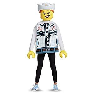 Lego 18474L cowgirl classico costume (Small, 4–6anni) 0039897184777 LEGO