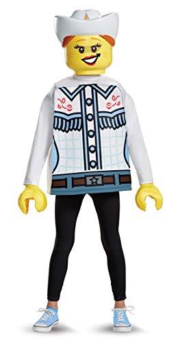 LEGO Disfraz clásico de vaquera Talla mediana