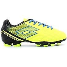 Lotto Junior Spider XI fgt Suelo Firme – Botas de fútbol Saftey  Yellow Shiver Talla a6b9e94ac18ce