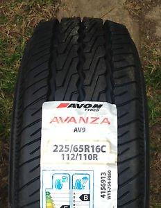 Avon Avanza AV9 New plis Van pneus 225/65 16 225/65/16