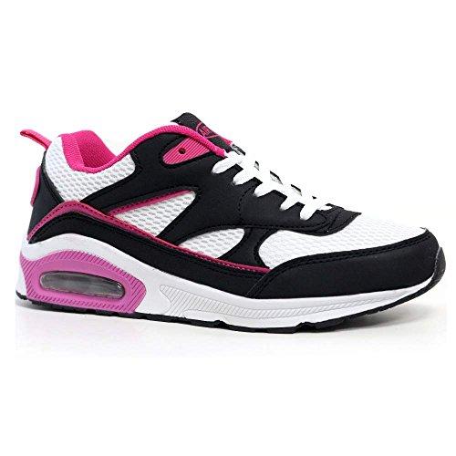 Tech Air-Scarpe da corsa da donna, con anti-Shock per scarpe da Fitness, palestra, sport, taglia 37