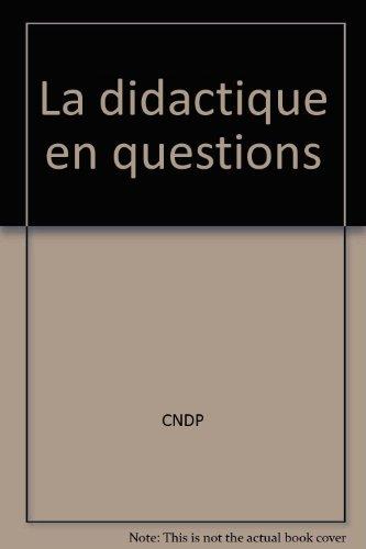 La didactique en questions