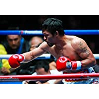 Desconocido Manny Pacquiao vs Lucas Matthysse 2018 Mundial Welterweight Boxeo Póster 10203 (A3-A4-A5) - A5