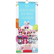 My Beanie Boo Birthday Calendar (A First Wall Calendar for Kids)