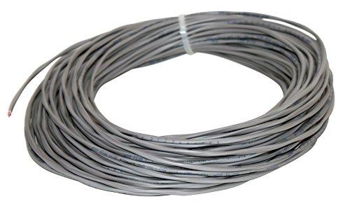 Wire 224GY1000 Draht, ungeschirmt, PVC, 1 Paar 100 Feet grau West Penn Wire
