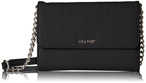 Nine West Aleksei Mini Crossbody ‑ Black (West Mini Nine)