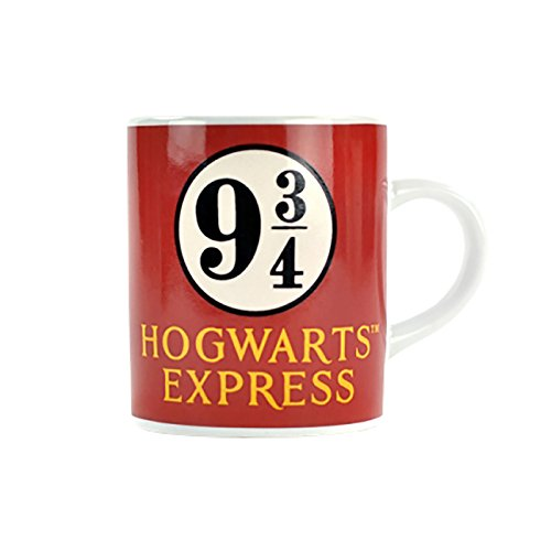 Harry Potter Platform 9 3/4 Hogwarts Express mini tazza di caffè espresso