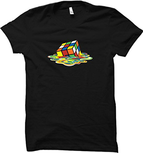 MELTING RUBIX CUBE T-SHIRT SHELDON COOPER TSHIRTS MENS AND LADIES COMEDY TEES ALL SIZES