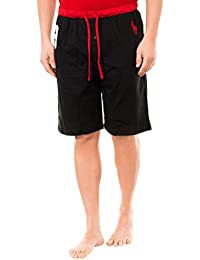 Polo Ralph Lauren Homme No 3 Logo Waistband Sleep Shorts, Noir