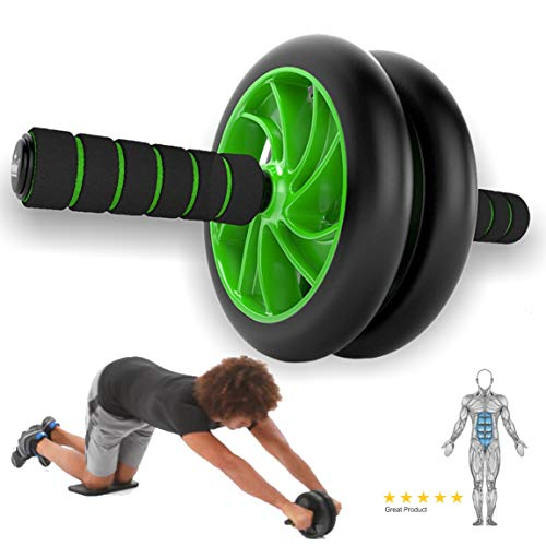 Bright Abdomen Wheel 6 Pack Ab Roller Muscle Equipment Fitness Machine Yoga Gym Running 100% Guarantee Sporting Goods Abdominal Exercisers