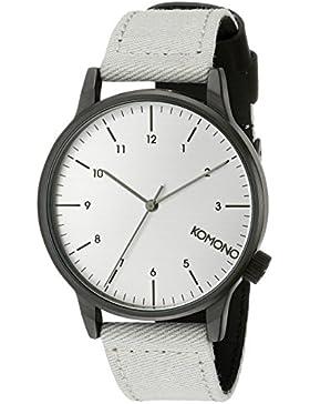 KOMONO Herren-Armbanduhr Analog Quarz Polyurethan KOM-W2120