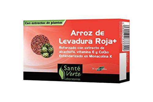 Sante Verte levure de riz rouge+ 30 comprimes