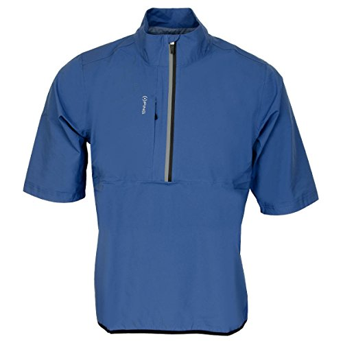 ping-zero-gravity-half-zip-short-sleeve-golf-waterproof-deep-sea-blue-s
