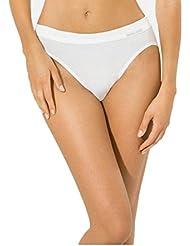 5er Pack Jazzpants Sport Edition Slip Damen, Bio Baumwolle Farbe: weiß Größen 38-48