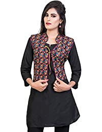 Banjara India Cotton Printed Jacket/Koti