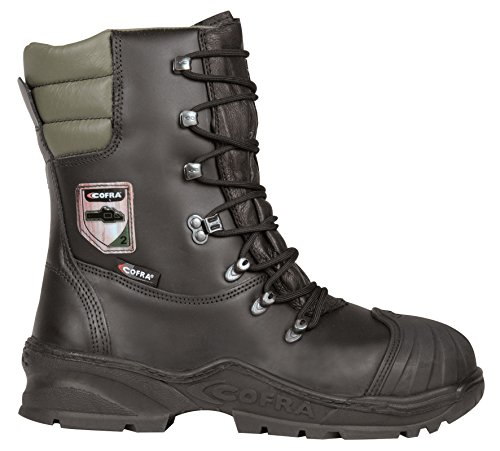 These boots are still new in the market and they are getting positive feedback. Some like how lightweight and comfortable the boots are, while others have praised the fit. These are good when working with a chainsaw and they provide protection all around the legs. The quality is top notch thanks to the grain leather and rubber material used in construction. Many professionals will love boots that they can wear in any weather and these ones excel in that area. They are only available in standard sizes though, which is a big disadvantage. If you have wide feet especially, these are the best chainsaw safety boots for you.