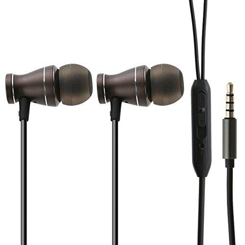 amazingdeal365Metall Headset Telefon Mikrofon Headset universal Headset